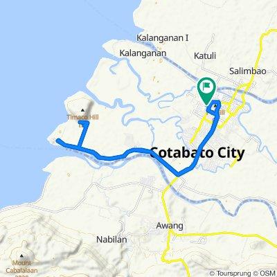 Cracking ride in Cotabato City