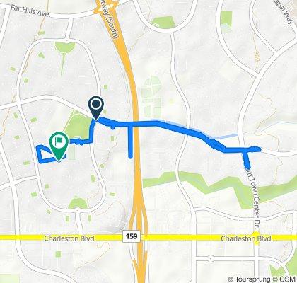 High-speed route in Las Vegas
