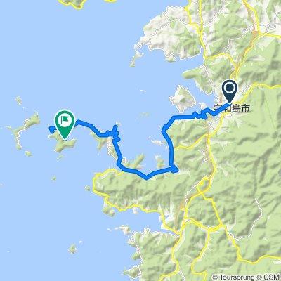 【愛媛県】宇和島遊子から大分県国東半島を目指すサイクリングの旅(前編)
