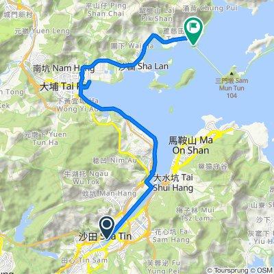 <編集中>【香港・沙田】シェアサイクルで香港の日常を楽しむサイクリングの旅_沙田~大美督コース