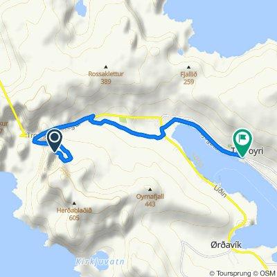 Bike trip Rangabotnur to Tvøroyri