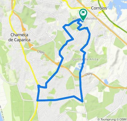 Rua Júlio Dinis 53–57, Corroios to Rua Júlio Dinis 50–60A, Corroios