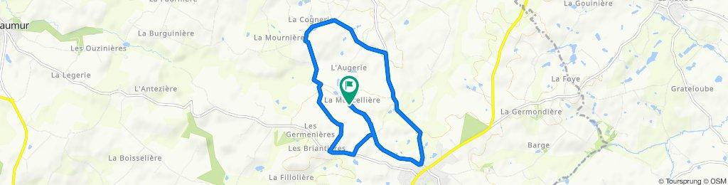 La Moncelière, Saint-Pierre-du-Chemin to La Moncelière, Saint-Pierre-du-Chemin