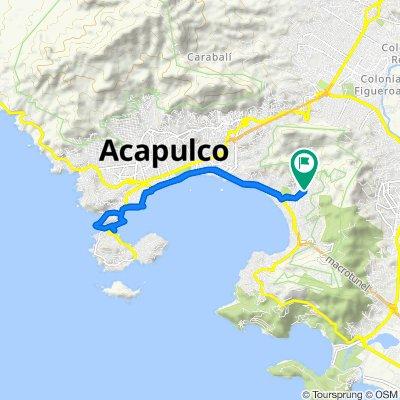 Calle Hilario Rodríguez Malpica 47, Acapulco to Calle Hilario Rodríguez Malpica 47, Acapulco