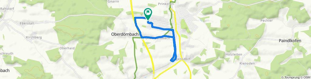 Dresdener Straße 3, Ergoldsbach to Dresdener Straße 3, Ergoldsbach