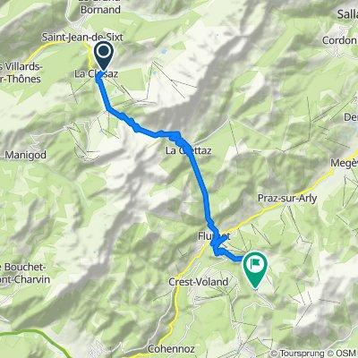 Etape 2b - Route grands Alpes