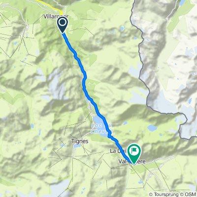 Etape 4b - Route grands Alpes