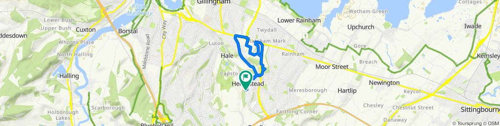 Moderate route in Gillingham