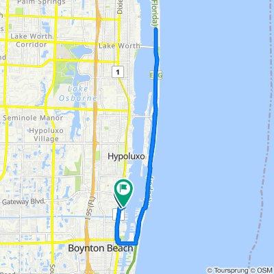 Restful route in Boynton Beach