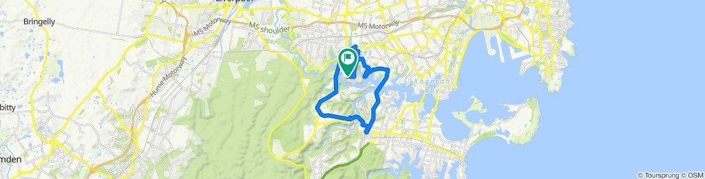 Moderate route in Lugarno