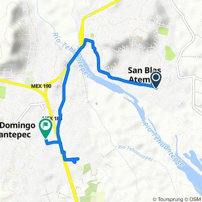 De Matamoros 22, San Blas Atempa a Calle Río Atoyac 14, Tehuantepec