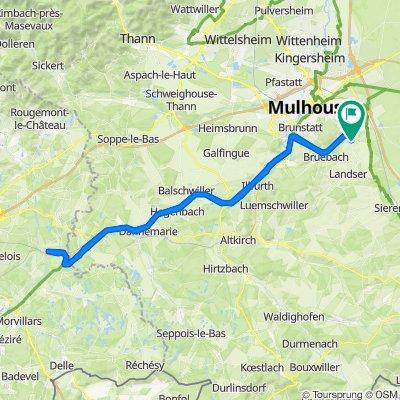 Zimmersheim Radfahren