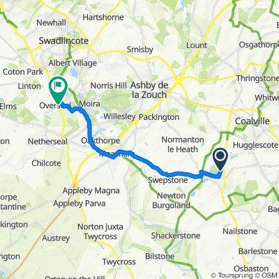 56 Usbourne Way, Ibstock to 3–30 Main Street, Swadlincote