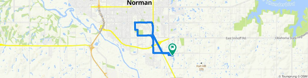 Steady ride in Norman