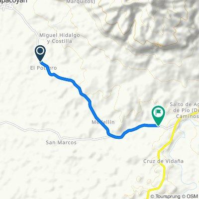 De Carretera Tres Zapotes - Dos Caminos a Carretera Tres Zapotes - Dos Caminos