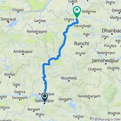 Unnamed Road, Sambalpur to Chouparan - Chatra Road, Itkori