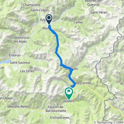 Etape 8a - Route grands Alpes