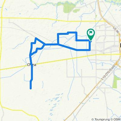 China loop on the Domane 6.2  #TexasMS150TeamBikeBarn #BikeBarnTx #ThankYouBikeBarnTx #lovemyBikeBarnTxKit