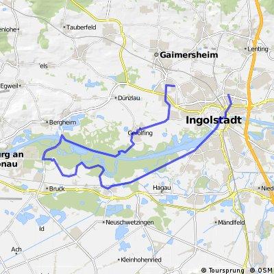 Arbeit - Auenrunde - Ingolstadt