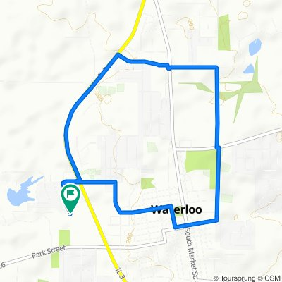 Moderate route in Waterloo