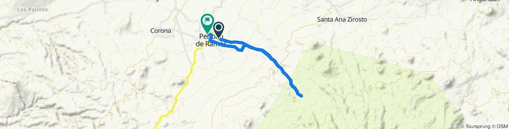 Paseo lento en Peribán de Ramos