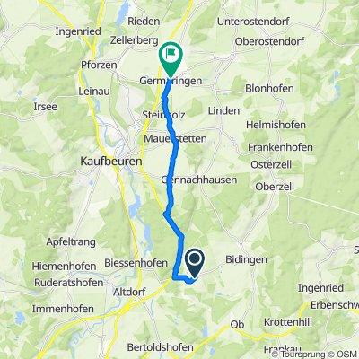 Sportliche Route in Germaringen