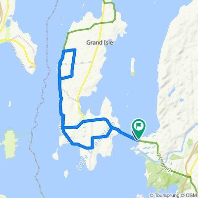 25.7 mile island ride