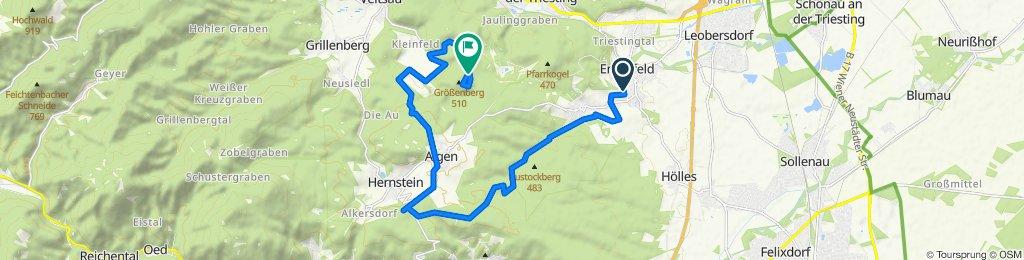 Gemütliche Route in Enzesfeld
