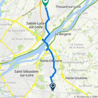 Route stable en Sainte-Luce-sur-Loire