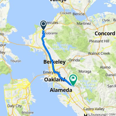 3400 Richmond Pkwy, Richmond to 5000 MacArthur Blvd, Oakland