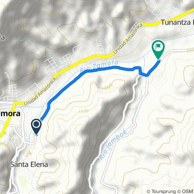 Paseo rápido en Zamora finca