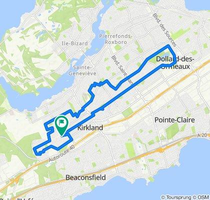 25km circle