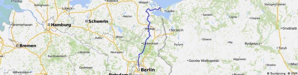 mit dem Rennrad nach Ahlbeck