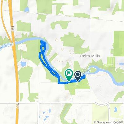 Old River Trail 7001, Lansing to Old River Trail 6963, Lansing