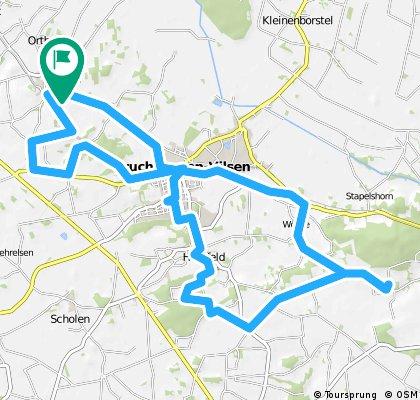Bruchhausen-Vilsen Rundtour