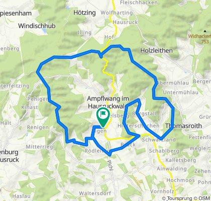 Göblberg - Pettenfirst - 30km