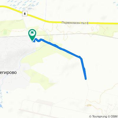 Relaxed route in Cheshnegirovo