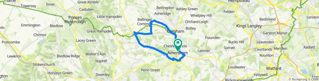 Amersham 16 mile loop
