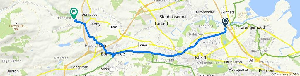 M9, Grangemouth to Works