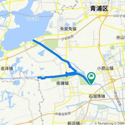 Blistering ride in Shanghai