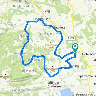 Benediktweg 1, Eglfing nach Benediktweg 2, Eglfing