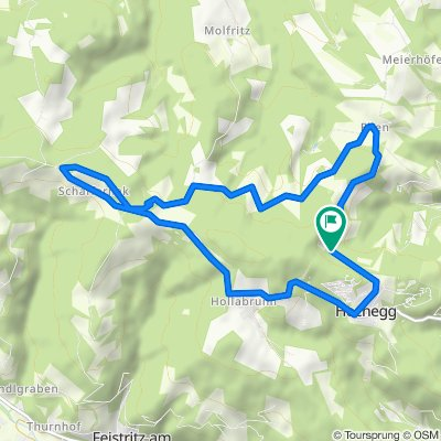 Knackige Fahrt in Grimmenstein
