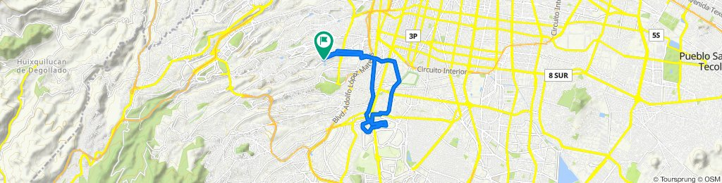 Ruta relajada en Ciudad de México