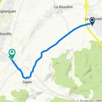 Route stable en Fons