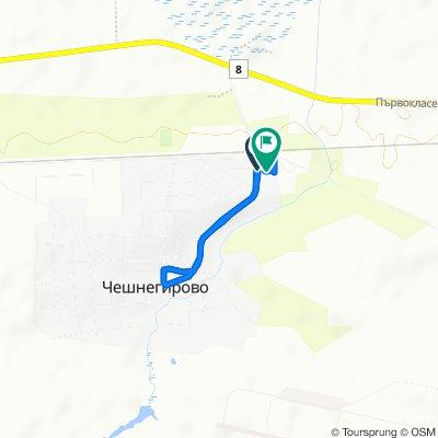 Slow ride in Cheshnegirovo