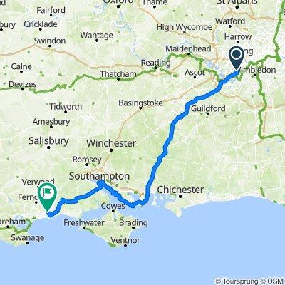 Twickenham to home