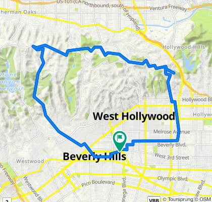 8521–8567 Burton Way, Los Angeles to 8521–8567 Burton Way, Los Angeles