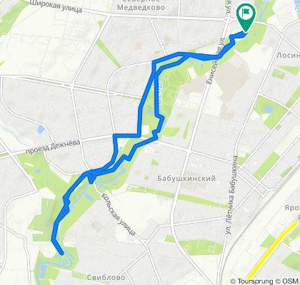 1 маршрут