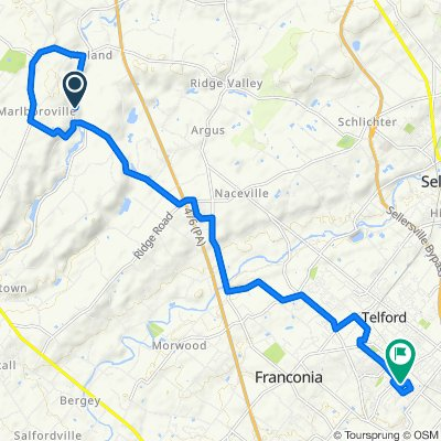 Steady ride in Souderton