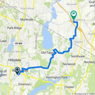 Relaxed route in Orangeburg